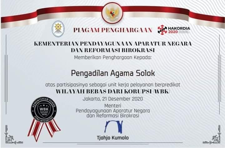 Anugerah Penghargaan WBK